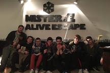 Mister.E - Alive Escape Rooms, Athens, Greece