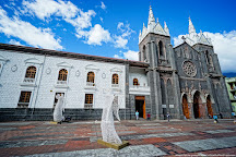 Church of the Virgin of the Holy Water (Nuestra Senora del Agua Santa), Banos, Ecuador