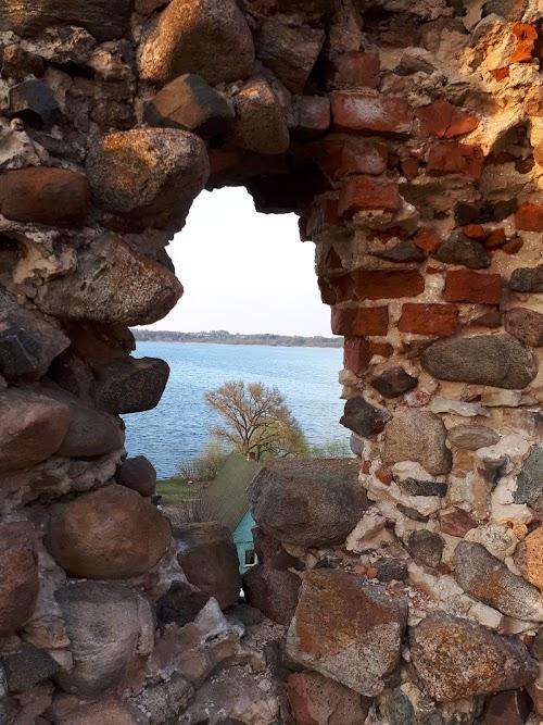 Развалины замка Ливонского ордена