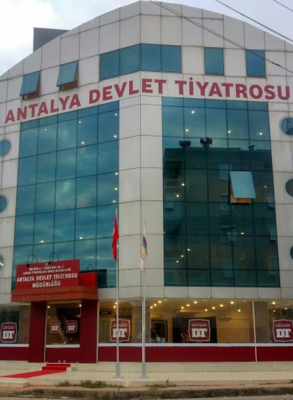 Antalya Devlet Tiyatrosu Müdürlüğü İdari Bina, Cumhuriyet Mahallesi, 626.  Sk. No:3, 07010 Muratpaşa/Antalya, Türkiye