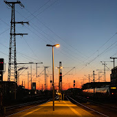 Станция  станции  Nürnberg Hbf