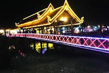 Siem Reap River, Siem Reap, Cambodia