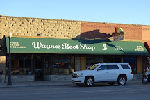 Wayne's Boot Shop, Cody, United States
