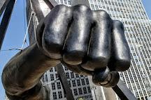 Joe Louis Monument, Detroit, United States