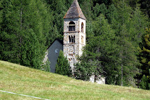 The Burial Church of Santa Maria, Pontresina, Switzerland