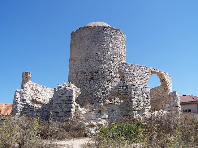 Ruins of mills