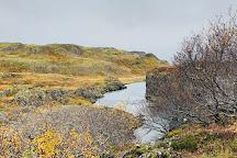 Glanni Waterfall, Bifrost, Iceland