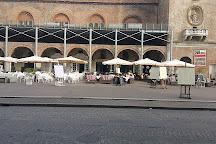 Piazza Virgiliana, Mantua, Italy