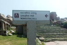 Monolithic Bull, Hampi, India