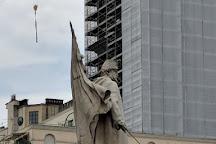 Monumento all'Alfiere dell'Esercito Sardo, Turin, Italy