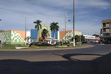 Praca dos Garimpeiros, Barra do Garcas, Brazil
