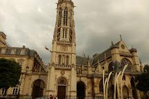 Eglise Saint-Germain l'Auxerrois, Romainville, France