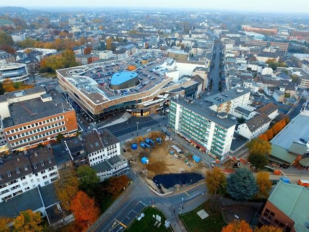 Rundflug über die niederrheinische Metropole Mönchengladbach