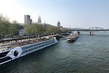 River Rhine, Dusseldorf, Germany