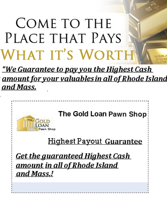 Gold Loan Pawn Shop Woonsocket Payday Loans Picture