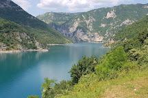 Piva Canyon, Pluzine, Montenegro