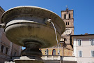 Fontana in Piazza Santa Maria in Trastevere