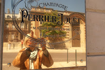 Boutique Champagne Perrier-Jouet, Epernay, France