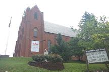 Historic St. Mary's Catholic Church, Lancaster, United States