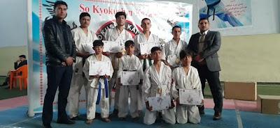 باشگاه سوکیوکوشین کاراته سادات هروی