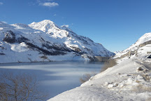 Lac de Tignes, Tignes, France