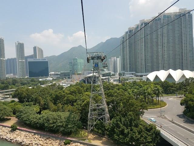 Ngong Ping Cable Car Tung Chung Station