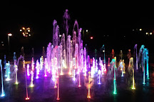 Cosmopolis Fountain, Torun, Poland