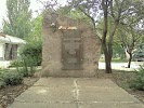 Памятник ликвидаторам аварии на Чернобыльской АЭС на фото Щёлкина