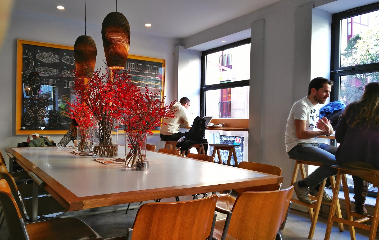 Café Federal: A Work-Friendly Place in Madrid