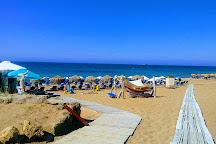 Issos Beach, Corfu Town, Greece