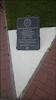 Памятный знак выпускникам КВАТУ, погибшим в Афганистане, улица Маршала Борзова на фото Калининграда