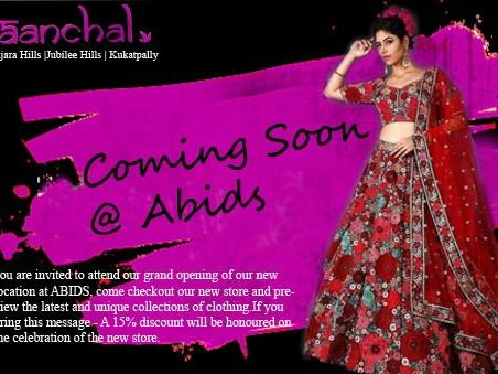 Aanchal Designer Wear Studio Clothing Store In Hyderabad