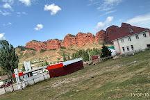 Jeti-Oguz Canyon (Seven Bulls Rocks), Issyk Kul Province, Kyrgyzstan