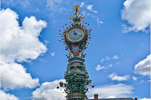 Horloge Dewailly et Marie-sans-chemise, Amiens, France