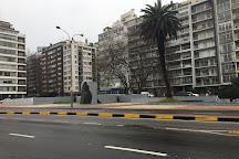 Playa Pocitos, Montevideo, Uruguay