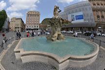 Fontana del Tritone, Rome, Italy