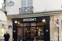 Resistance, Paris, France