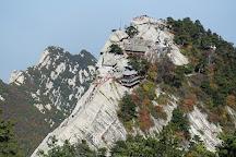 Mountain Huashan Plank Trail, Huayin, China