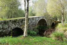 Puente de Vilarino Frio, Montederramo, Spain