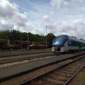Железнодорожная станция  Domažlice