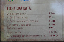 Rozhledna Krasensky vrch, Krasno, Czech Republic