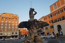 Piazza Barberini, Rome, Italy