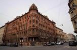 Дом Кумовича, улица Радищева, дом 26 на фото Санкт-Петербурга