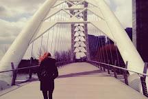 Humber Bay Arch Bridge, Toronto, Canada