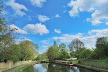 Hanwell Lock Flight Canalside, London, United Kingdom