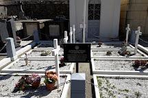 Tumba de Antonio Machado en el cementerio de Collioure, Collioure, France