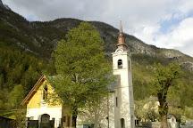 Church of St. Joseph, Soča, Slovenia