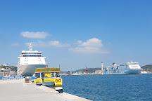 Yellow Catamarans, Mahon, Spain