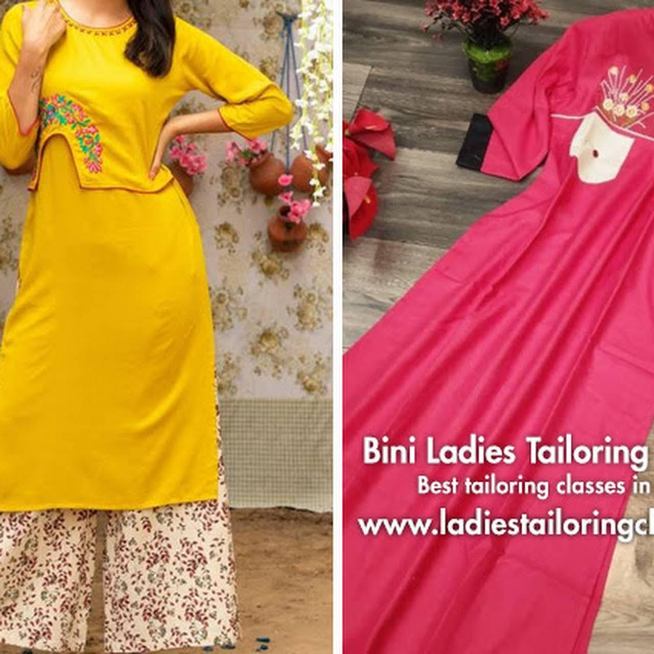 Bini Ladies Tailoring Classes Stitching Class In Bengaluru