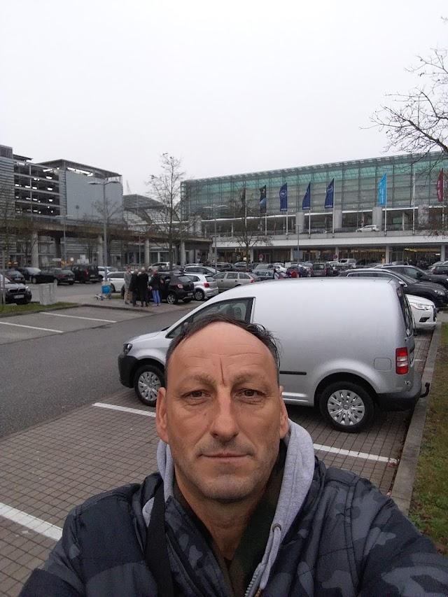 Aparcamiento Llegadas Munich